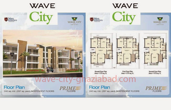 Wave City Independent Prime Floors 287 sq. yard