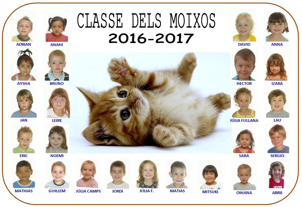 LA CLASSE 5 anys