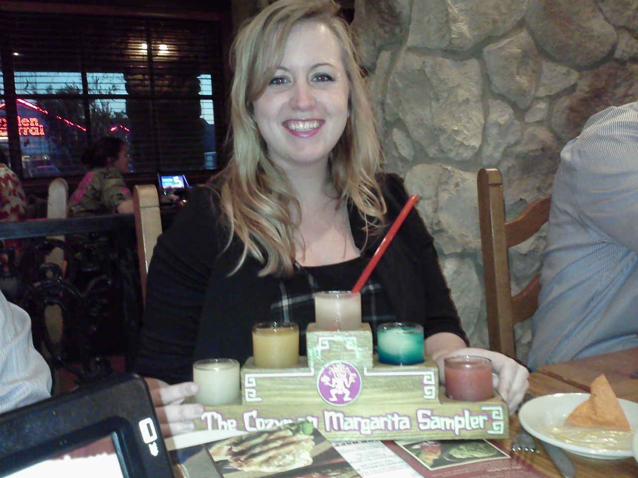Cozymel's magarita flight