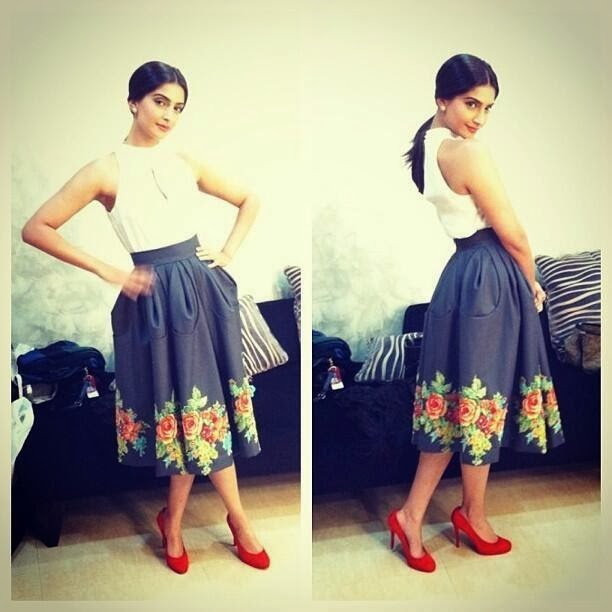 Sonam Kapoor - Bewakoofiyaan promotions have started!! Yippee!!