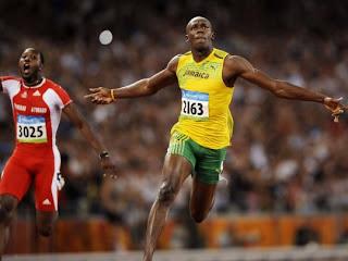 usain bolt running olympic champion london 2012