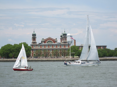 Sailing by Ellis Island. 6/3/2012 (unedited photo)