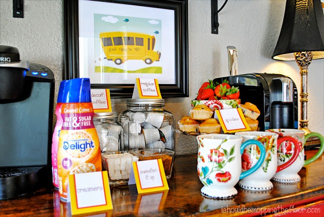 First Day of School Mama Coffee Time Free Printables and Ideas