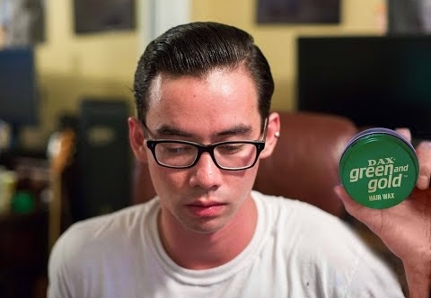 Review Pomade Dax Green and Gold