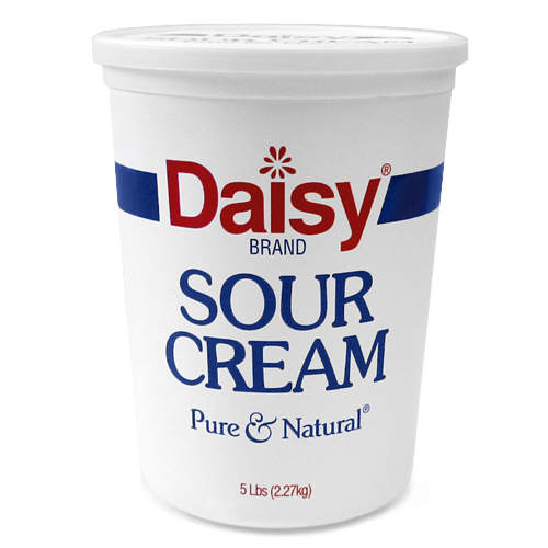 sour cream 