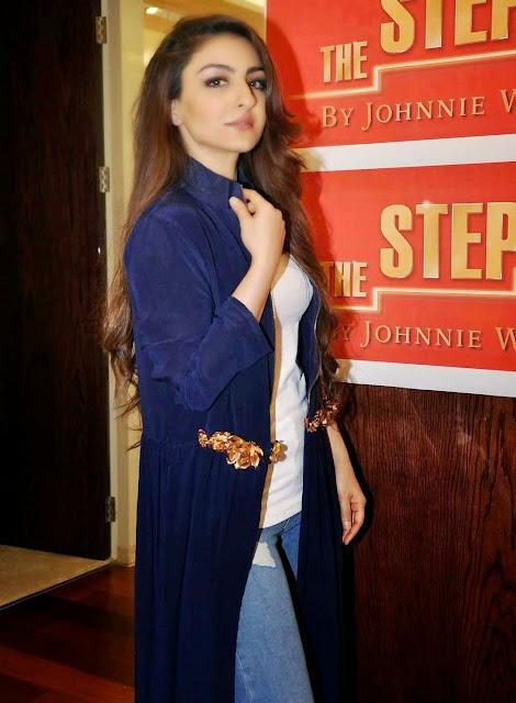 Soha Ali Khan Stills At Johnnie Walker Digital Mentorship Program Launch