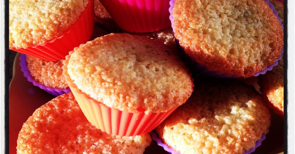 Sweet Kwisine: Les minis minis moelleux à l'orange