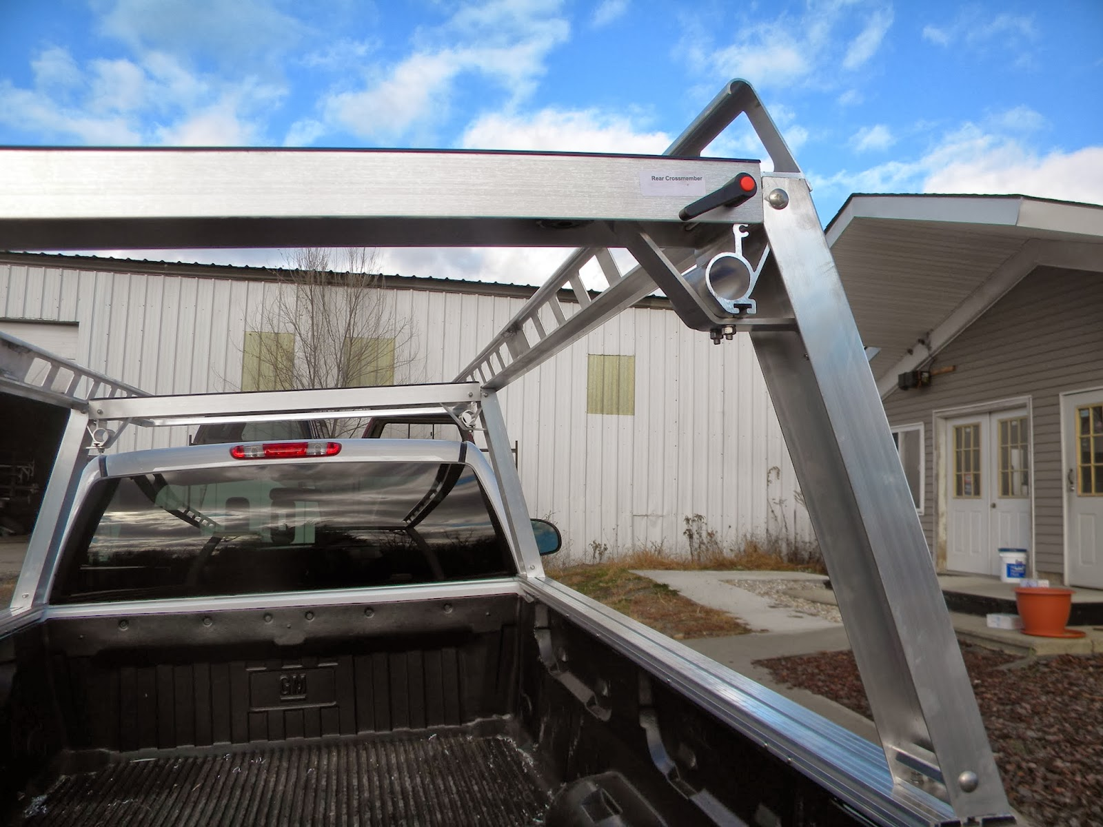 System One Ladder Rack St 200 Heavy Hauler Trailers