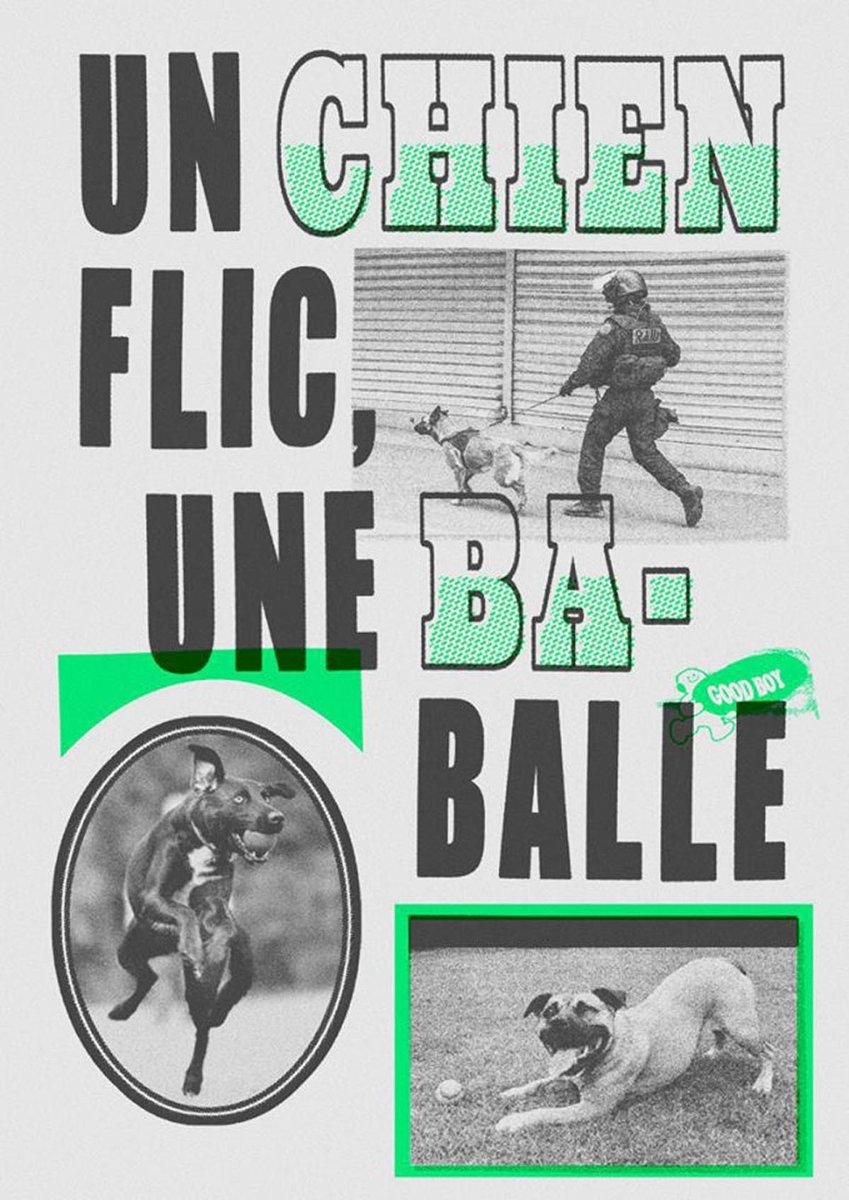 Chien flic | Poster