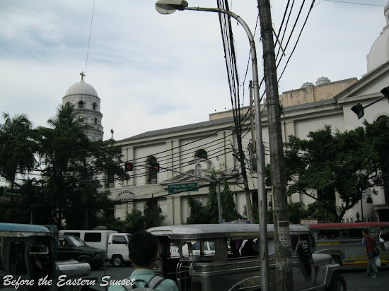 Santa Cruz Church is the end Kalye Escolta.