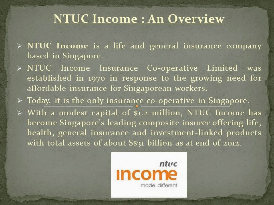 "modernization of ntuc income Modernization of ntuc income essay 1393 words | 6 pages case study ""modernization of ntuc income"" 1 please read the."