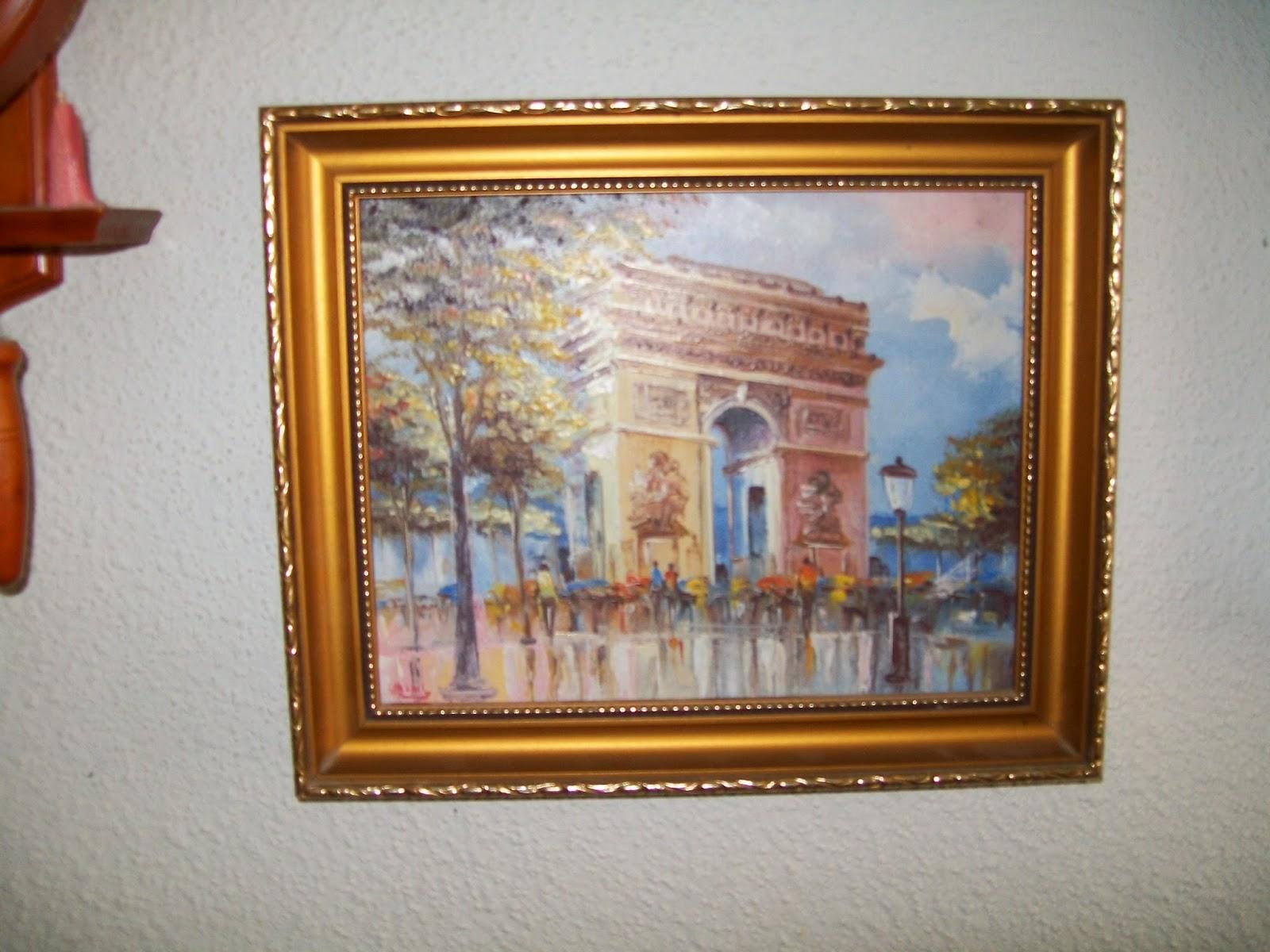 Calogilou le champi tableaux peintures hst arc de - Peintre burnett estimation ...