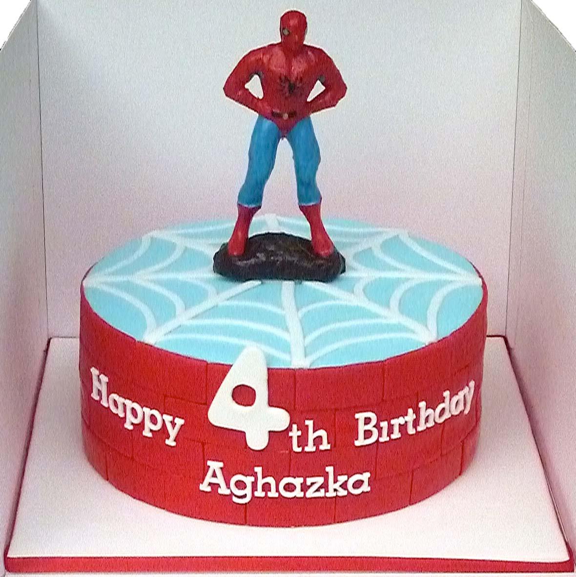 Spiderman cupcake cake walmart - photo#23