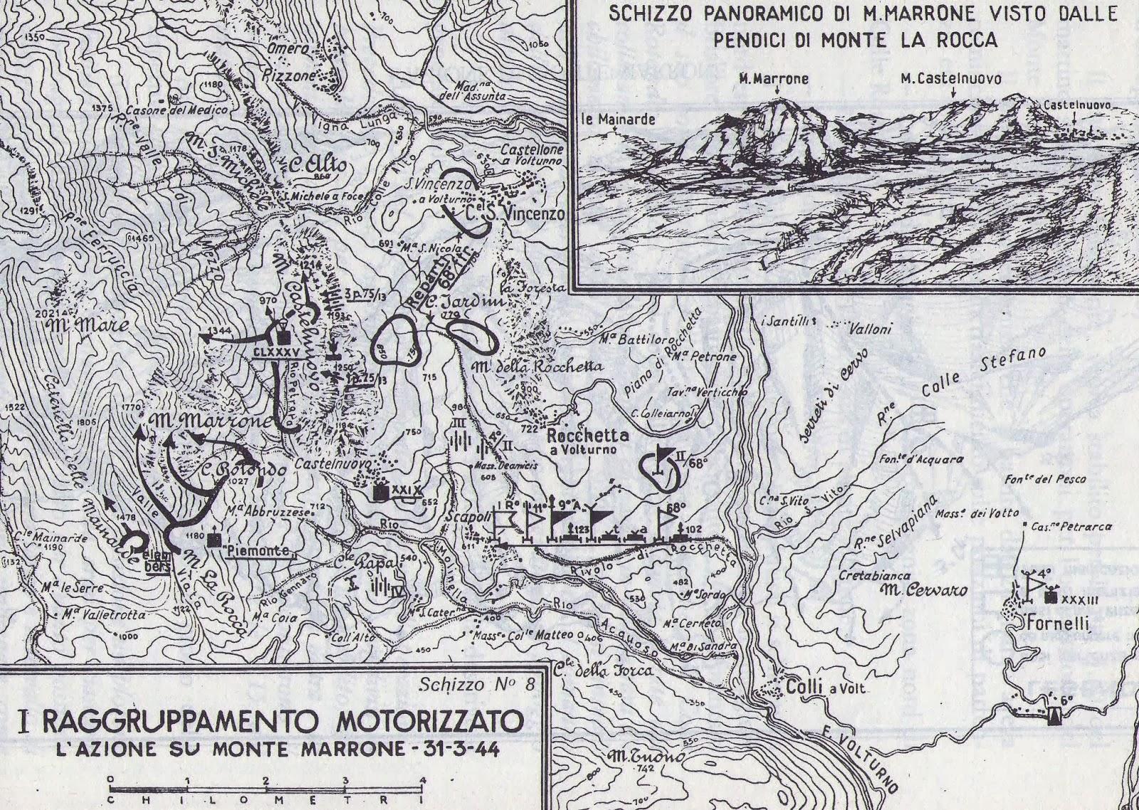 .Monte Marrone 31 marzo 1944