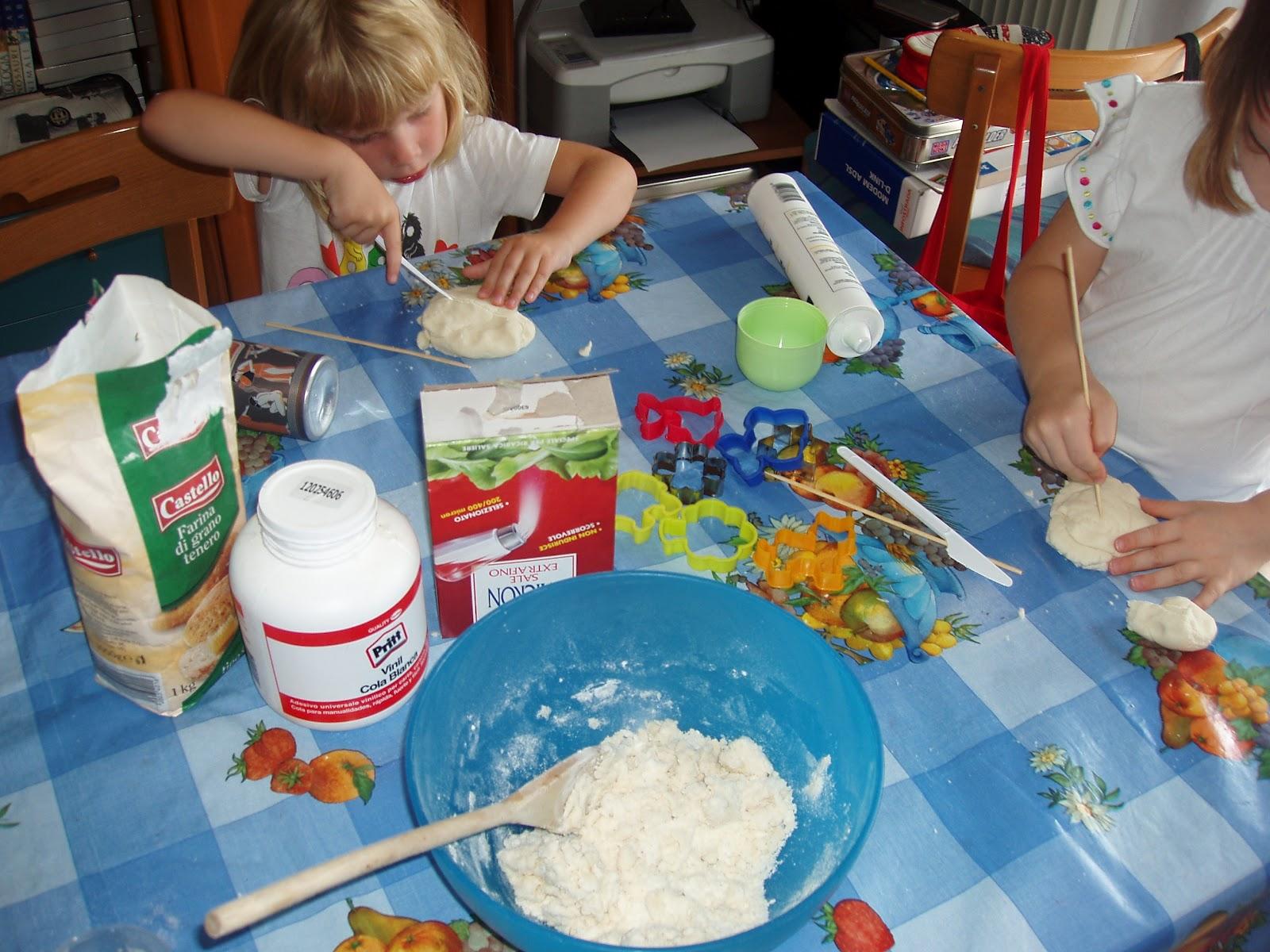Souvent cosedibea: La pasta di sale IO18