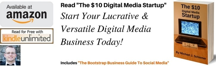 Welcome to Boostrap Business by Michael J Schiemer. Make sure to get my new eBook: