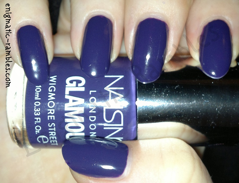 Enigmatic Rambles: Swatch: Nails Inc - Wigmore Street