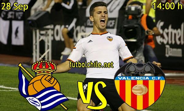 Real Sociedad vs Valencia - La Liga - 14:00 h - 28/09/2014