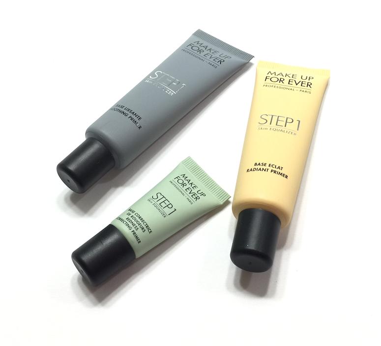 Make Up For Ever Step 1 Skin Equalizer - Redness Correcting Primer, Radiant Primer Yellow, Smoothing Primer