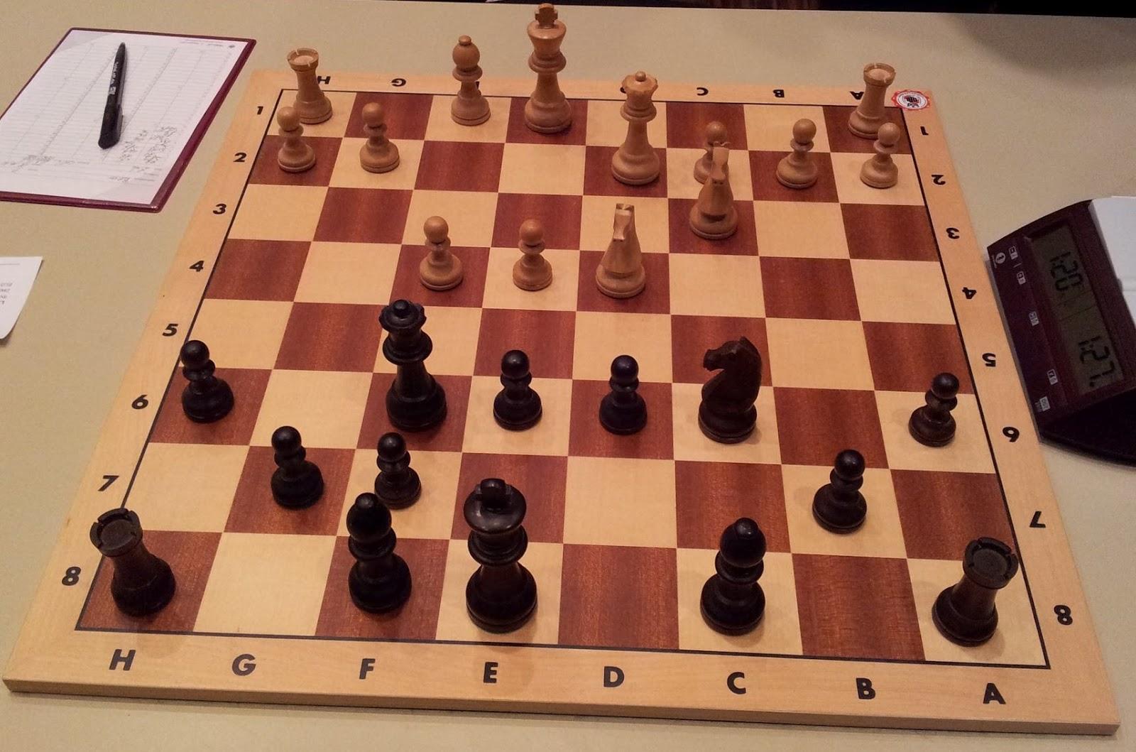 Eine sehr schöne Schachpartie