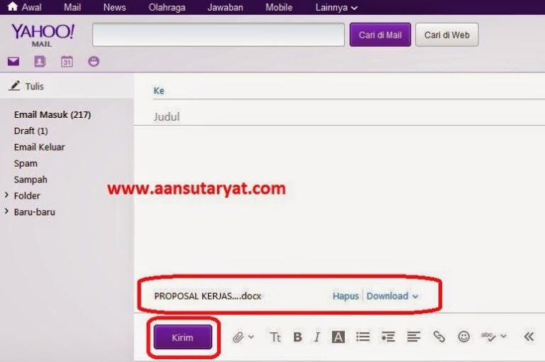 Mengirim Email Dengan Yahoo