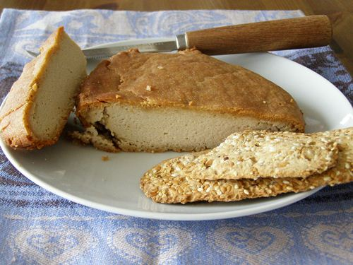 Hickory Smoked Baked Almond Cheese title=