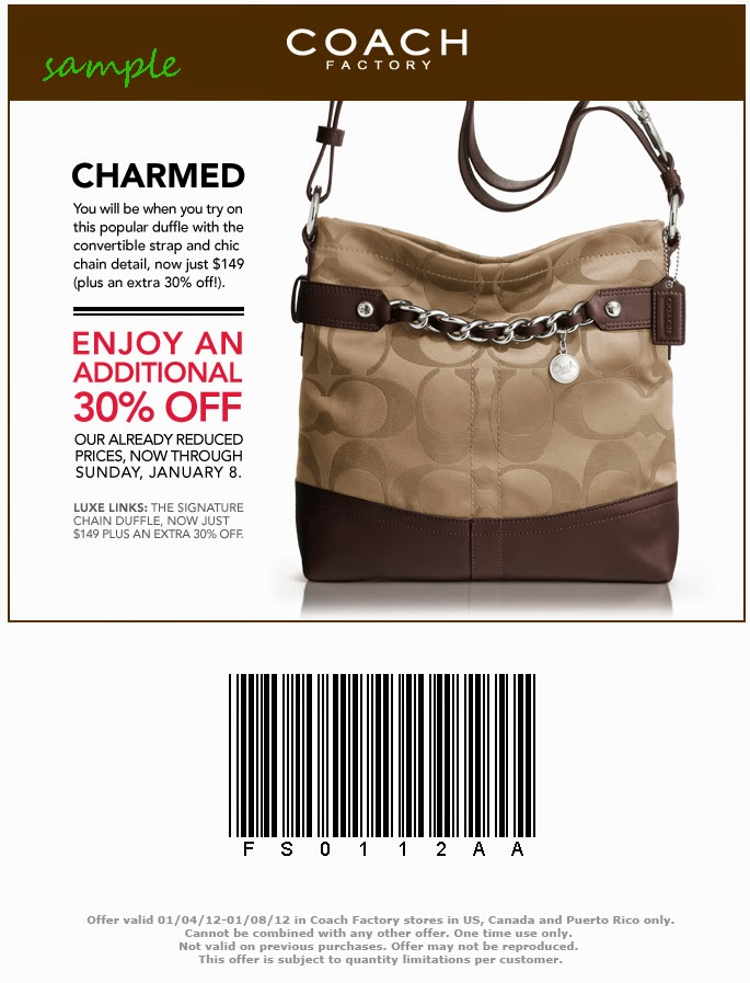 coupons for coach outlet tyhn  coach factory outlet promo code