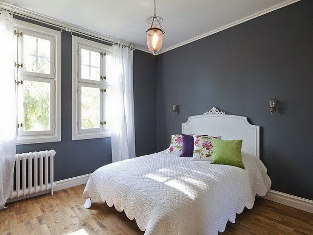 Best wall paint colors for home for Best bedroom colors for small rooms