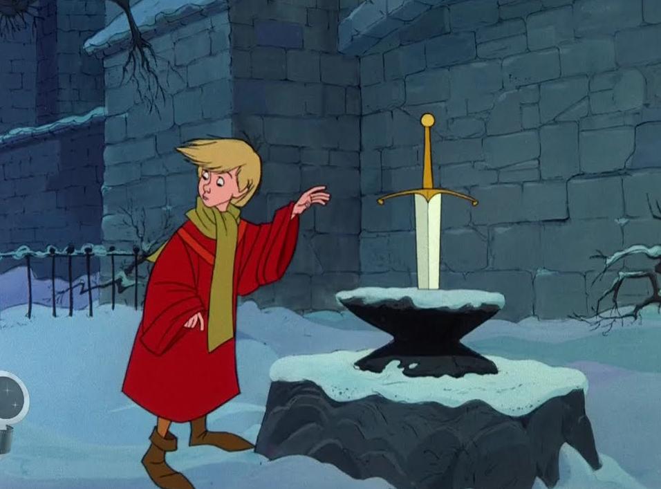 Sword In The Stone Arthur