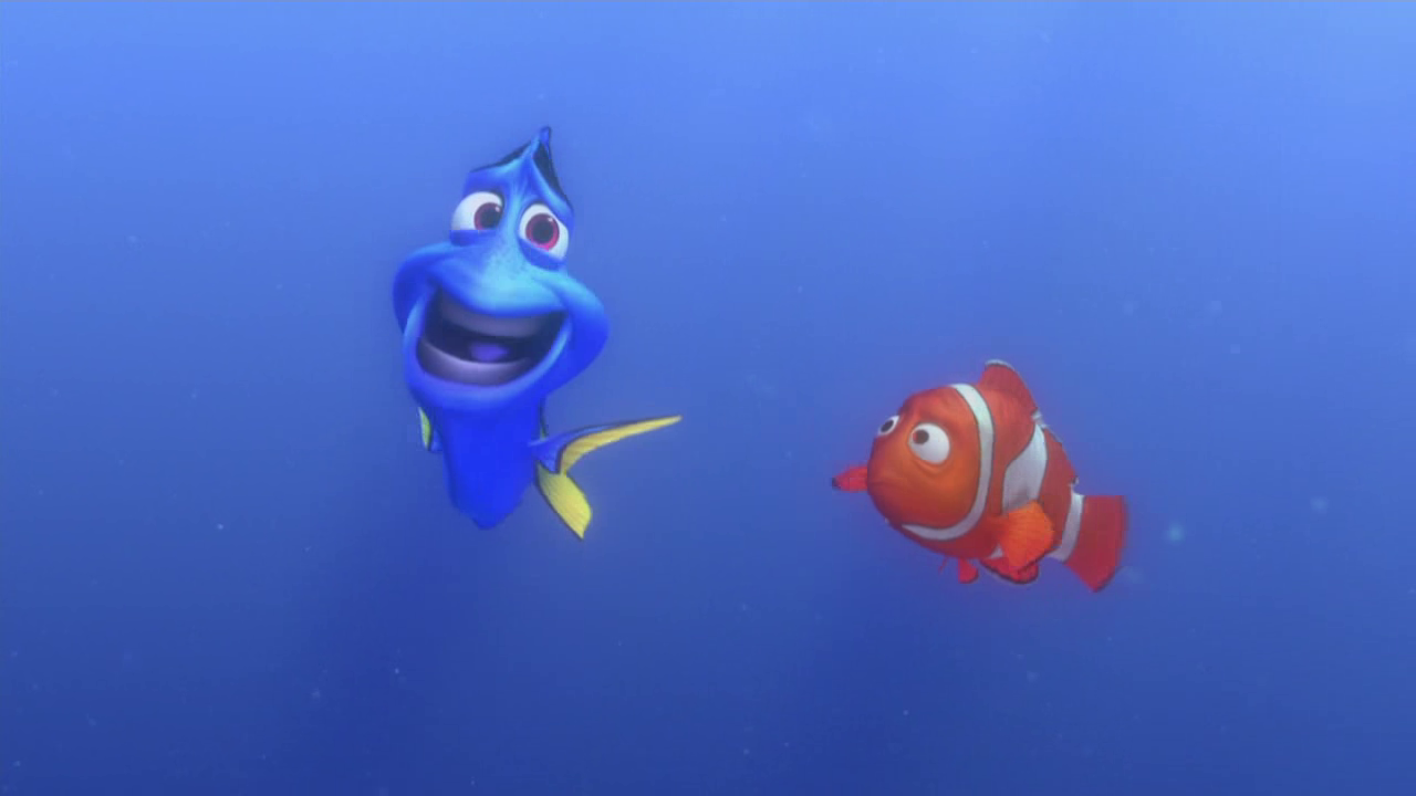 Finding nemo dory speaking whale quotes