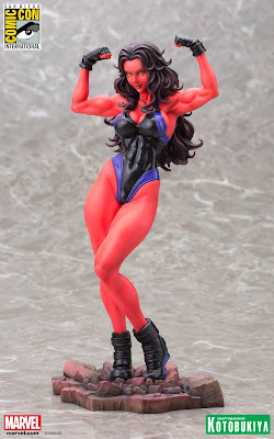 San Diego Comic-Con 2015 Exclusive Marvel Red She-Hulk Bishoujo Statue by Kotobukiya