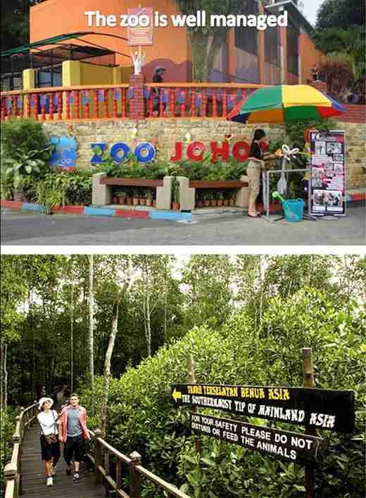 JB zoo well manage