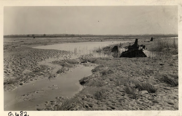 Horsey inundation, Norfolk. 1938.
