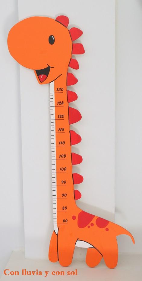 Con lluvia y con sol medidor infantil de madera para lier - Medidor infantil madera ...