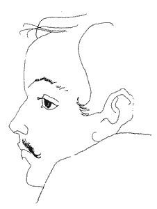 Mikhail Lermontov - Selfportrait