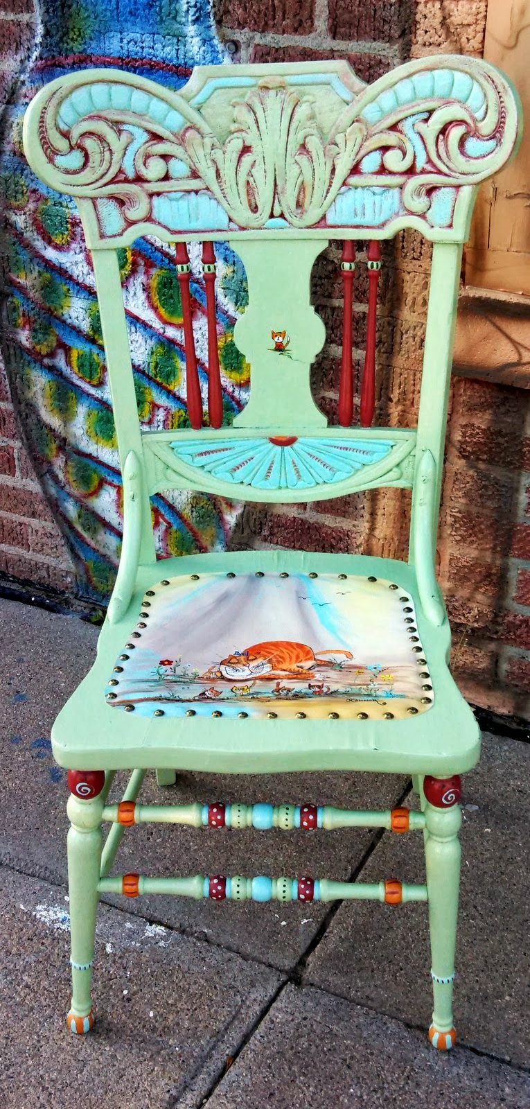 Carolyn 39 s funky furniture gallery for Funky furniture