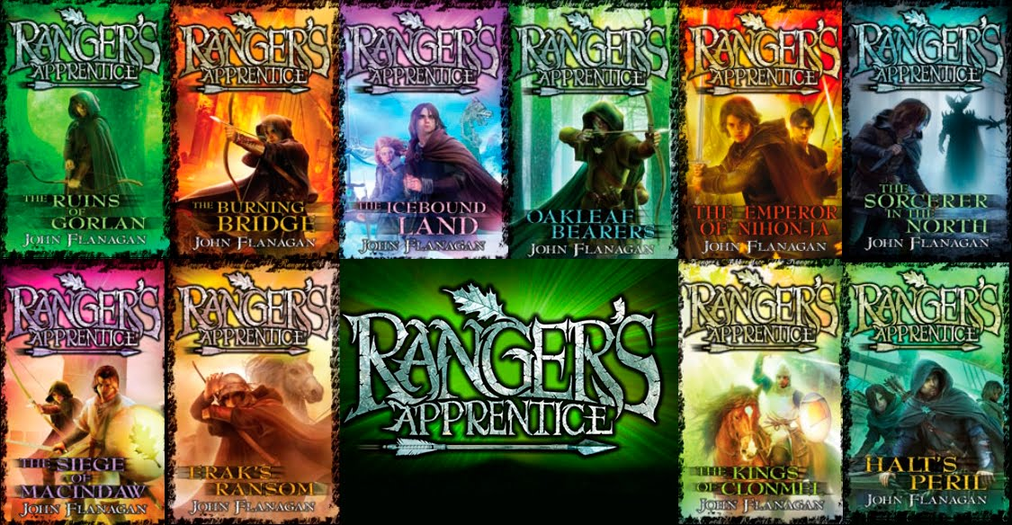 The Narrative Causality: Ranger's Apprentice Series by ...