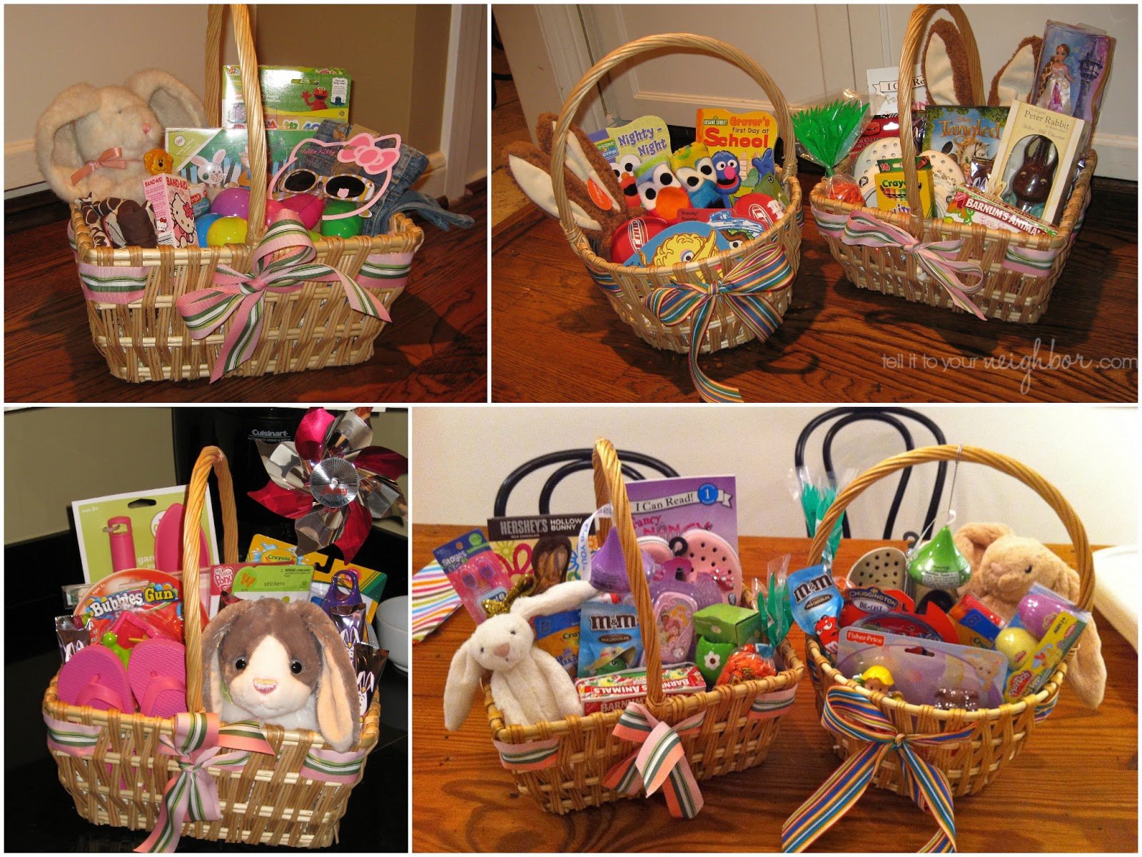 Tell it to your neighbor an easter basket for the years easter basket ideas negle Image collections