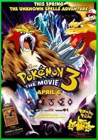 Pokémon 3 | 3gp/Mp4/DVDRip Latino HD Mega
