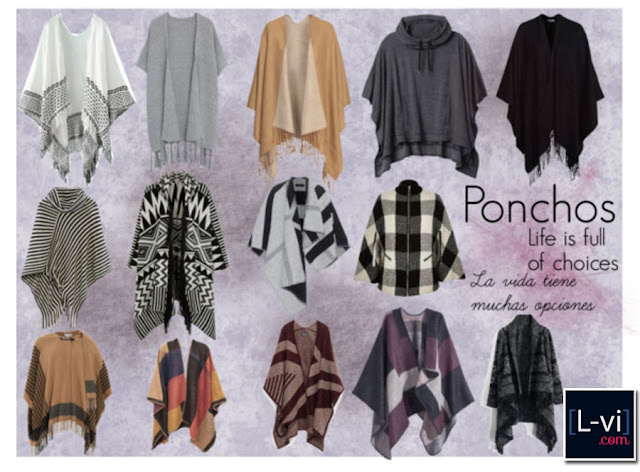 [Trends] Ponchos by LuceBuona  L-vi.com
