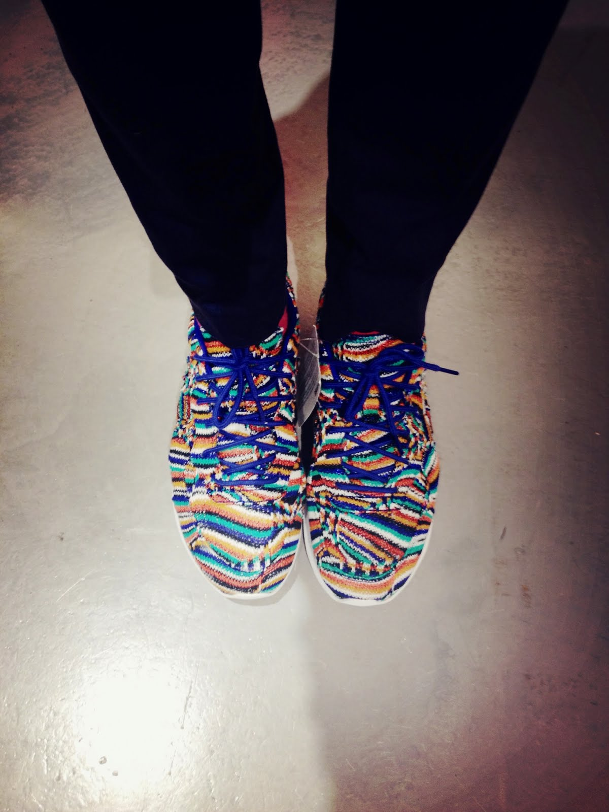 00O00 Menswear Blog Missoni Converse Auckland Racer sneakers