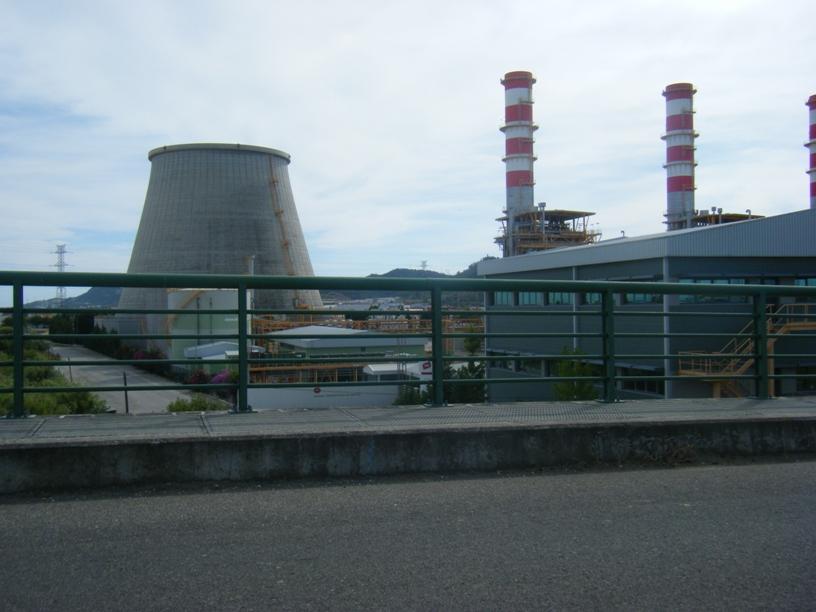 Chaminé da Central Termoelectrica