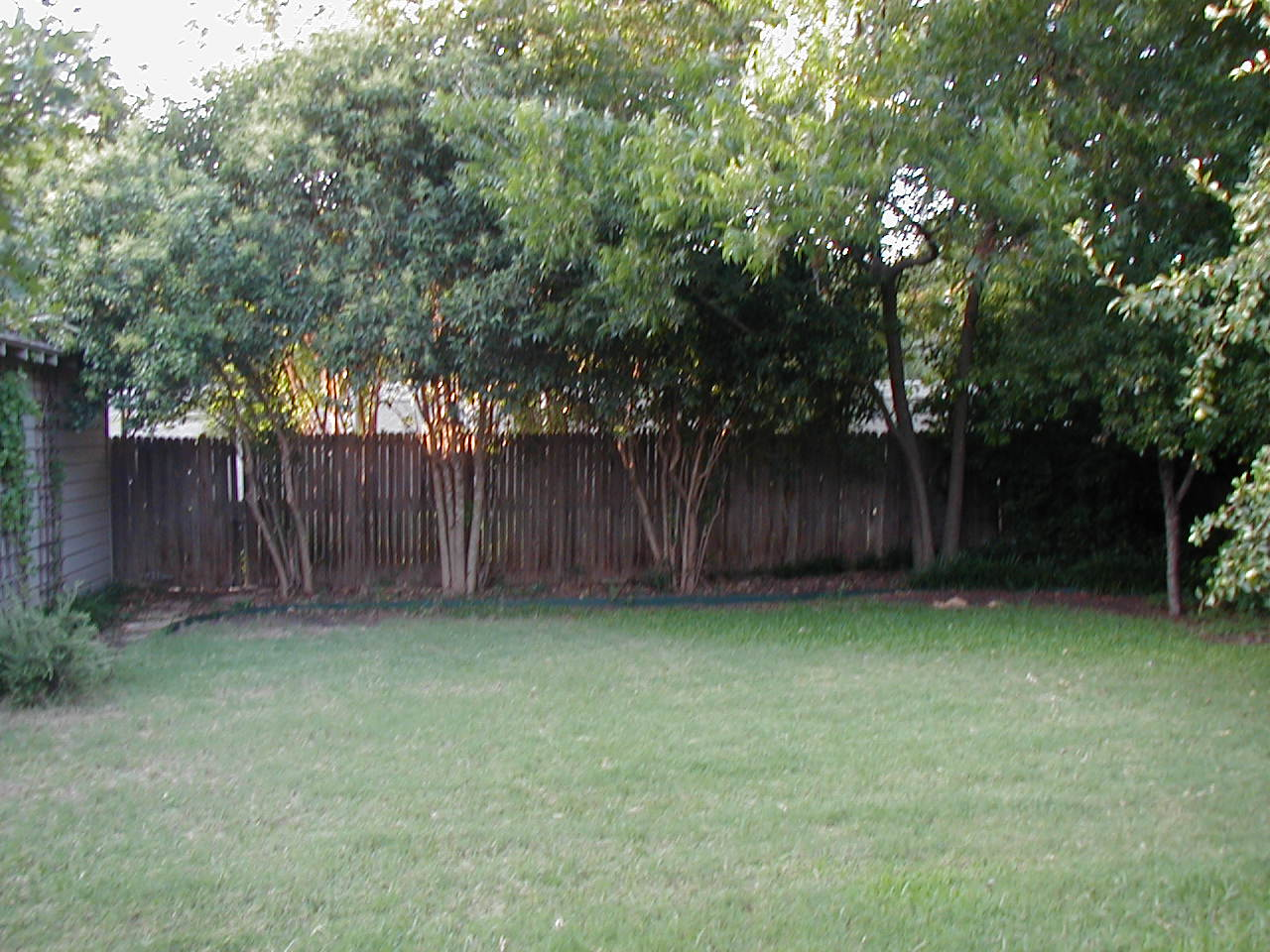 Small yard fence how to make fence for Small backyard privacy ideas