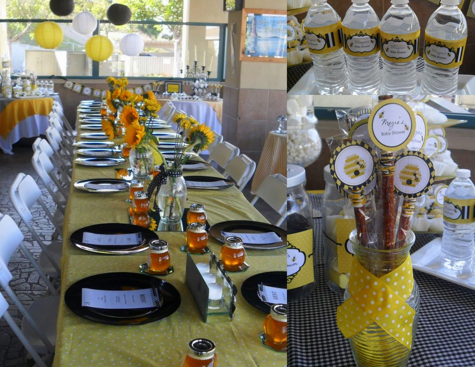 a criolla image brithday shower bumblebee bee decor favors bumble planning baby of ideas decorations wedding