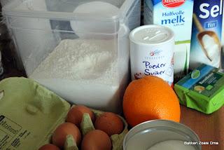 Eclairs met sinasappelcrème