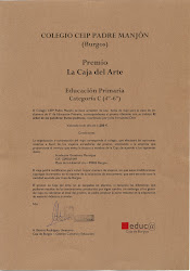 "1º Premio ""El Árbol de las Palabras"""