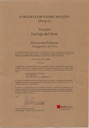 """1º Premio """"El Árbol de las Palabras"""""""