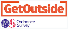 Proud to be working as an Ordnance Survey GetOutside Champion 2018/19