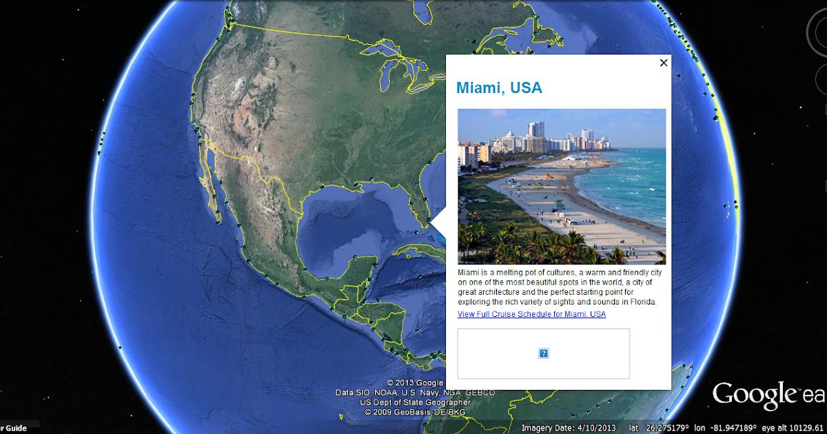 CleanCruising GOOGLE EARTH | Marine Vessel Traffic