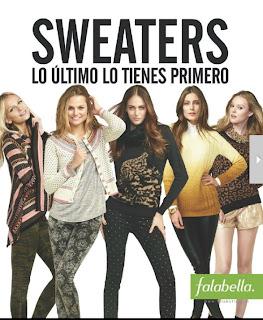 revista falabella sweater jun 2013